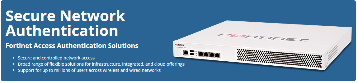 Fortinet Identify and Access Management